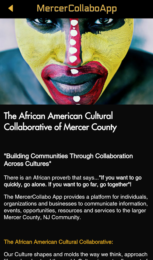 Mercer Collabo App- screenshot