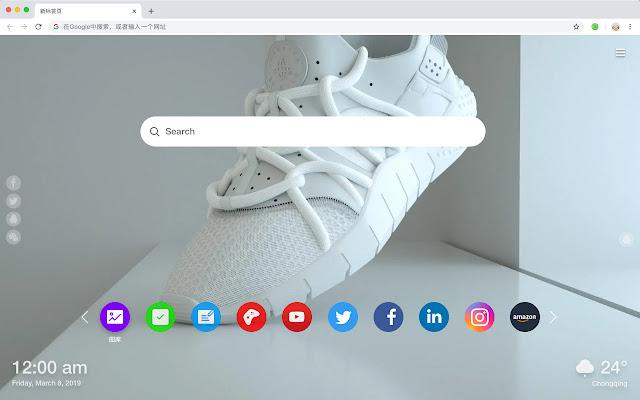 鞋子 高清壁纸 新标签页 热门服饰 主题