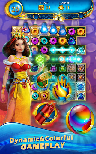 Lost Jewels - Match 3 Puzzle apkpoly screenshots 6