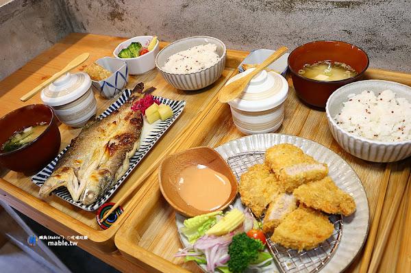 粮心食堂:良心食材製作的日式定食,美味健康兼具