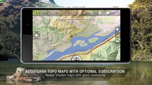 BackCountry Nav Topo Maps GPS Screenshot