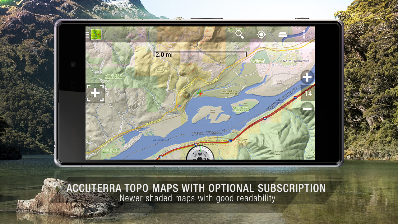 BackCountry Nav Topo Maps GPS- screenshot