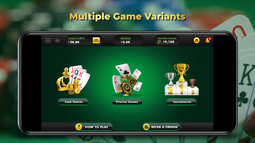 ClassicRummy - Play Free Online Indian Rummy Game APK MOD (Astuce) screenshots 2