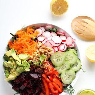 Spring Cleaning Detox Salad.