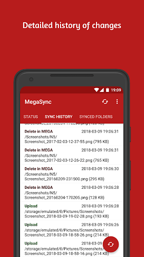 Autosync for MEGA - MegaSync  screenshots 7