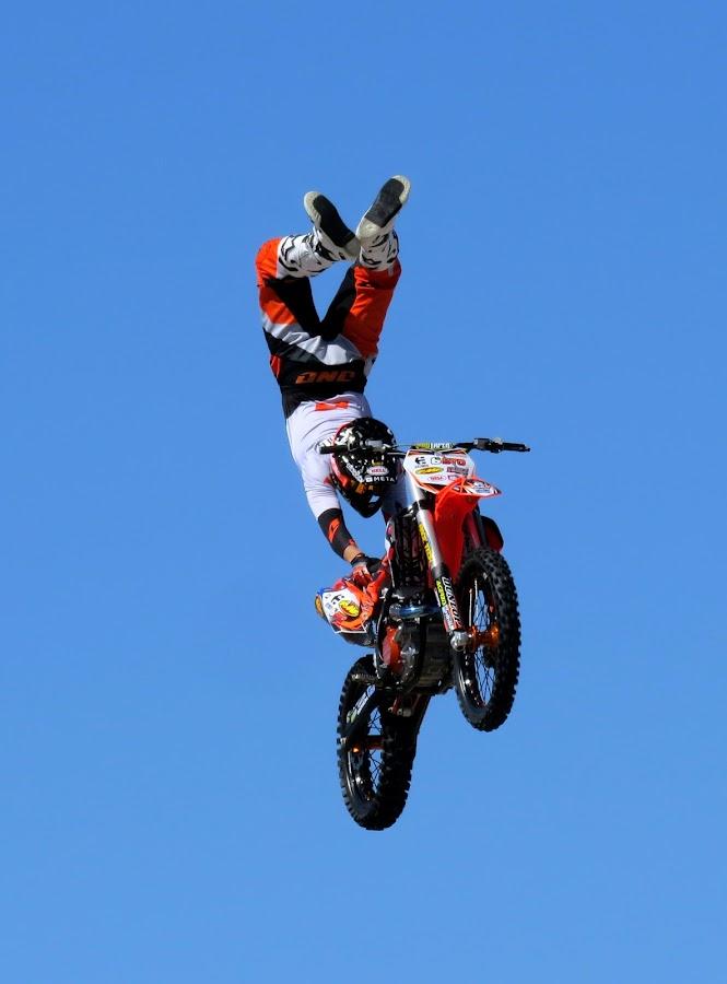 by Michele Whitlow - Sports & Fitness Motorsports ( miramar air show, motocross, motorbike, motorsports )
