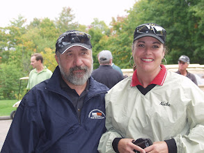 "Photo: Stan Millross & Laura-Ann ""Zena"" (I'm still perspiring) Vezeau"
