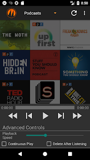 Android için Metapod - Podcast Manager Uygulamalar screenshot
