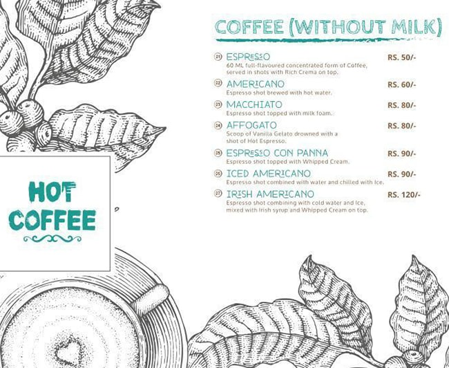 Love Over Coffee menu 7