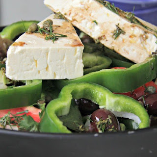 Greek Village Salad.