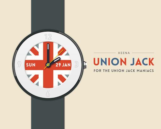Union Jack watchface by Xeena