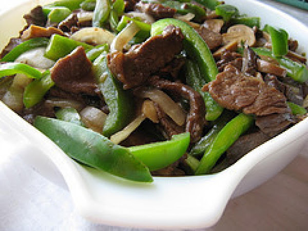Chinese Beef And Peppers Recipe