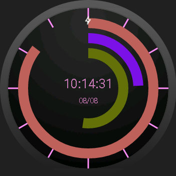 Pop WatchFace- screenshot