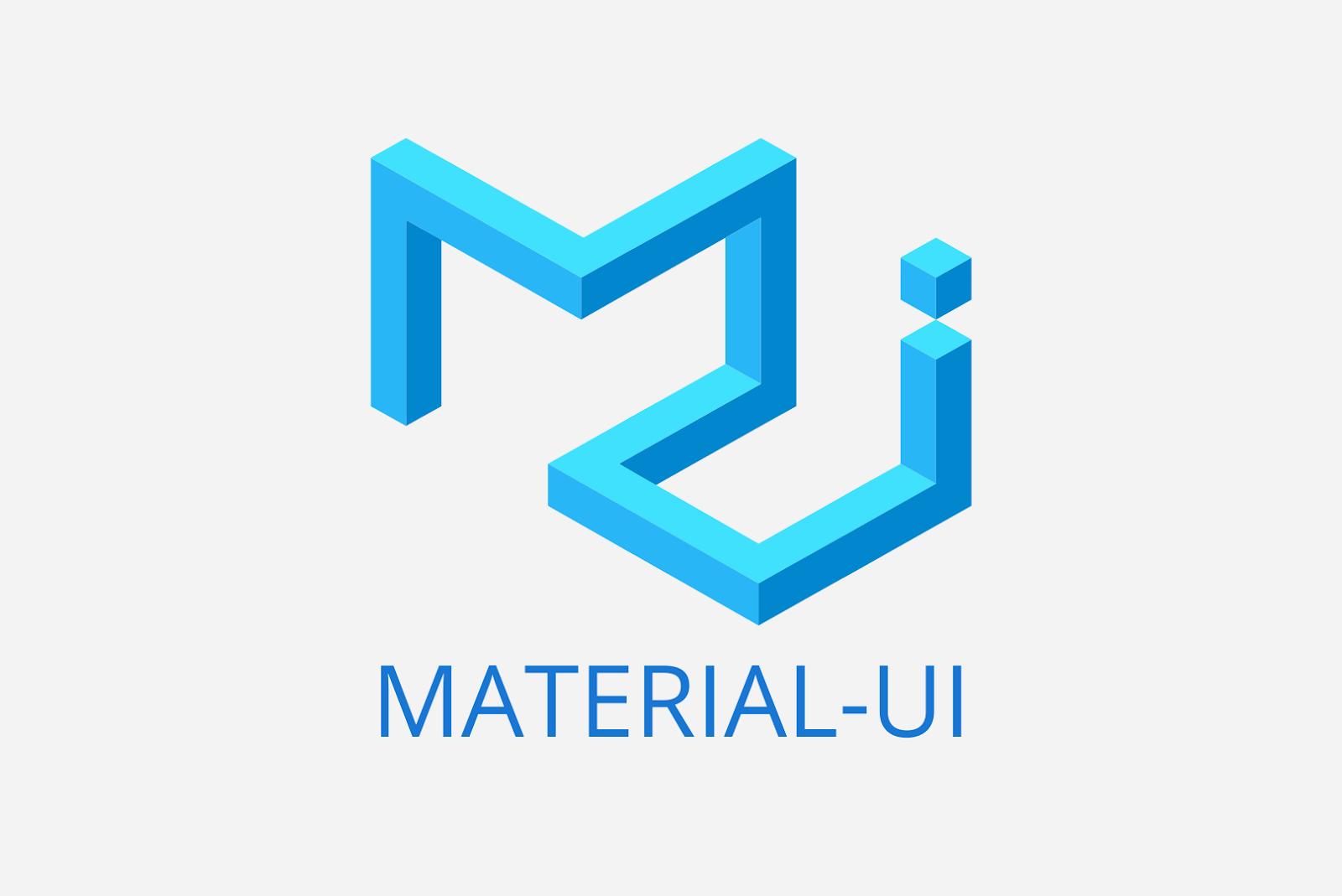 Material ui React Libraries 2020