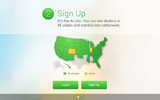 Screenshot of Amwell: Live Doctor Visit Now