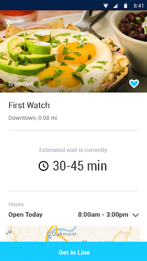 Nowait - Restaurant Wait Times Screenshot