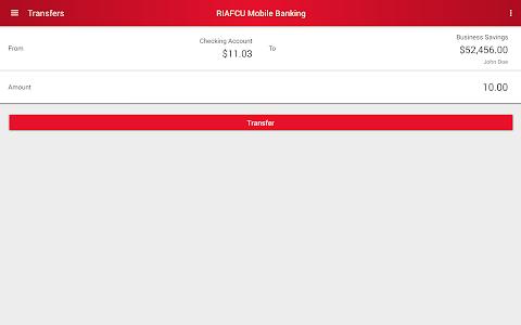 RIAFCU Mobile Banking screenshot 16