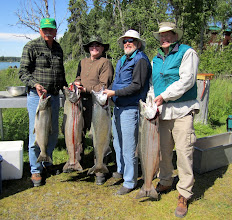 Photo: Come experience our awesome King Salmon fishing for yourself!