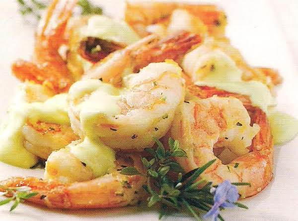 Citrus Shrimp With Lemondaise Sauce Recipe