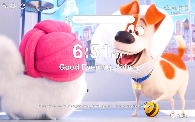 The Secret Life of Pets 2 Wallpapers Tab
