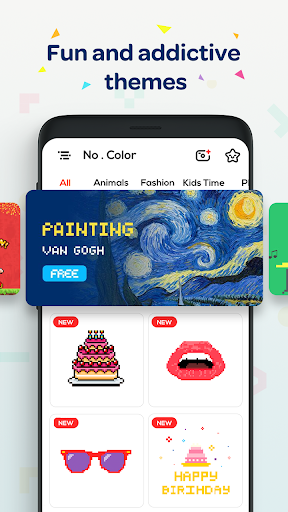 No. Color - Color by Number, Number Coloring 7.2 screenshots 7