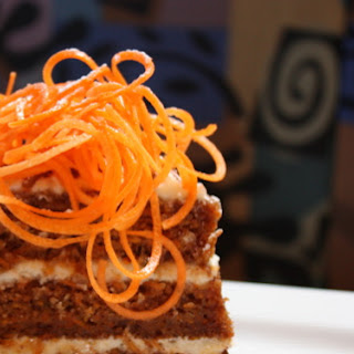 Spiced Carrot Cake.