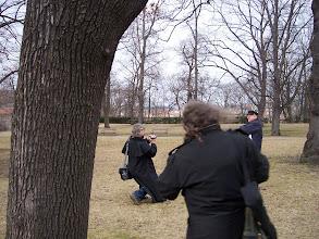 Photo: A do třetice šest kroků od třetího stromu. V průsečíku těchto linií leží POKLAD!