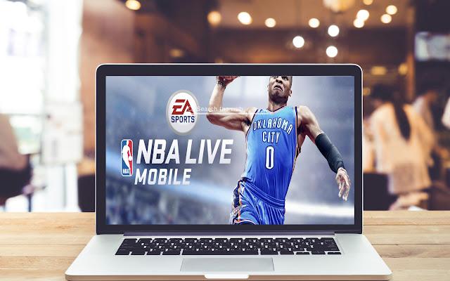 NBA Live Mobile Basketball Wallpapers Theme