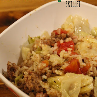 Unstuffed Cabbage Roll Skillet #SundaySupper