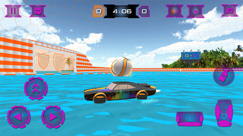 Screenshot 2 ⚽Super RocketBall - Real Football Multiplayer Game 2.5.6 APK MOD