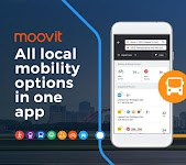 screenshot of Moovit: Bus Times, Train Times & Live Updates