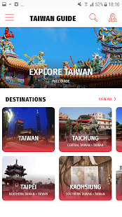 ✈ Taiwan Travel Guide Offline - náhled