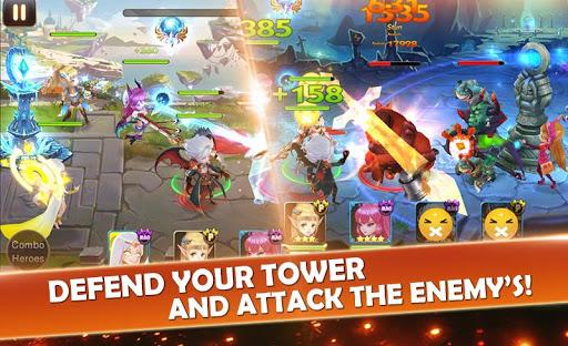 Code Triche Seven Paladins SEA: 3D RPG x MOBA Game APK MOD screenshots 5