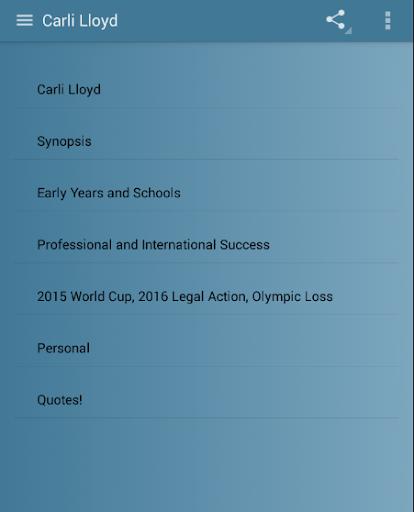 Carli Lloyd 1.0 screenshots 2