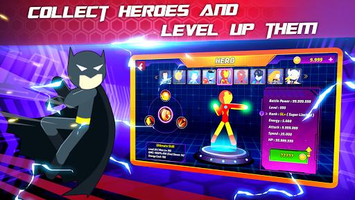 Super Stickman Heroes Fight screenshots 5
