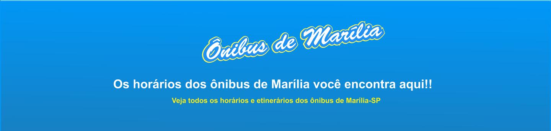 Horário Ônibus em Marília