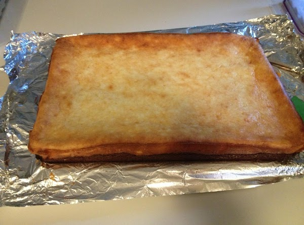 Bake for about 40-45 minutes until slightly browned and toothpick inserted comes out clean....