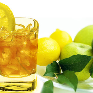 Iced Lemon With Tea