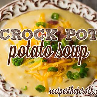 Baked Potato Soup Without Milk Recipes.