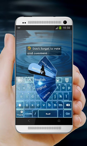 玩免費個人化APP|下載藍月亮 GO Keyboard app不用錢|硬是要APP