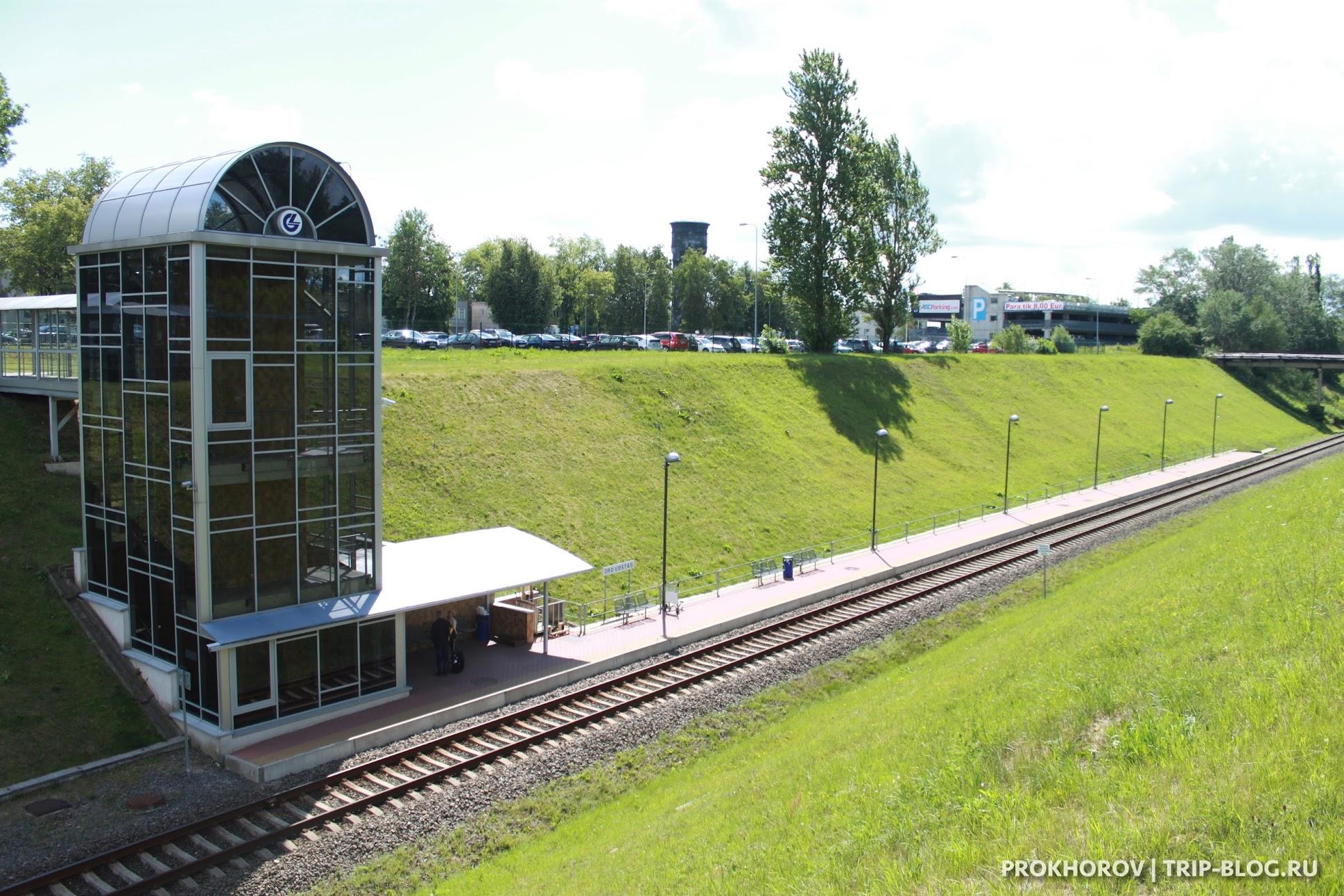 электричка в аэропорт Вильнюса