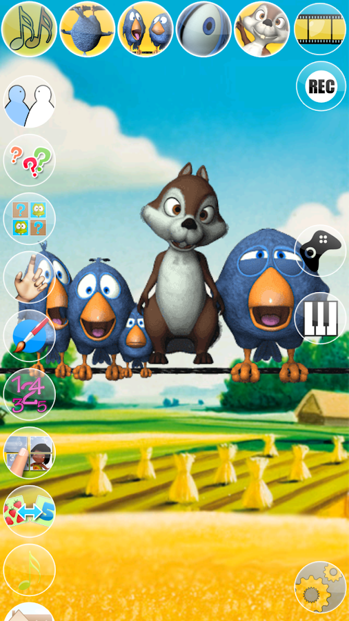 Talking Birds On A Wire- screenshot