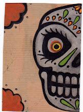 Photo: Wenchkin's Mail Art 366 - Day 244 - Card 244a