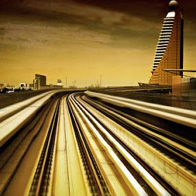 Dubai Metro by Jon de Guzman Jr - Buildings & Architecture Bridges & Suspended Structures