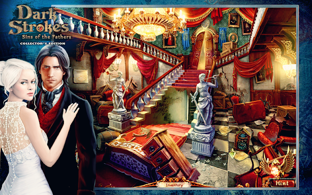 Dark Strokes: Hidden Objects Finding Game - screenshot