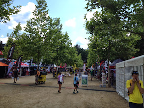 Photo: The exposition area is immense… At least five times bigger than any race expo I have seen