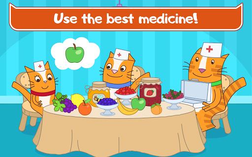 Cats Pets Animal Doctor Games for Kids! Pet doctor  screenshots 12