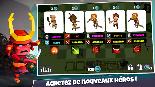 Heroes Auto Chess: Simulateur de combat tactique  captures d'écran 2
