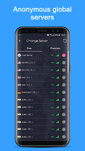 Free VPN Proxy - Super VPN Unblock Master 1.7.4 Screenshots 2