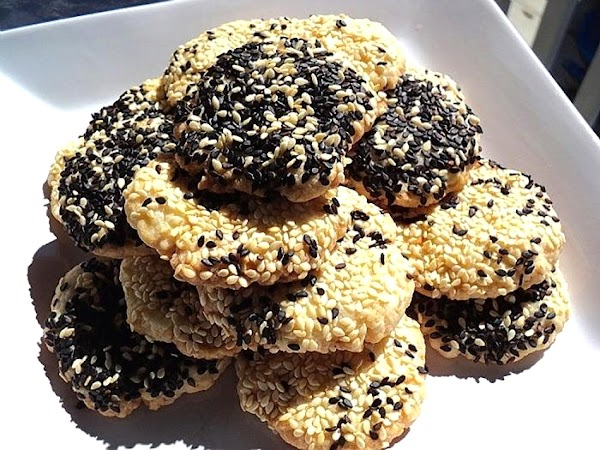 Baraziq -- Sesame Cookies (syria -- Middle East) Recipe